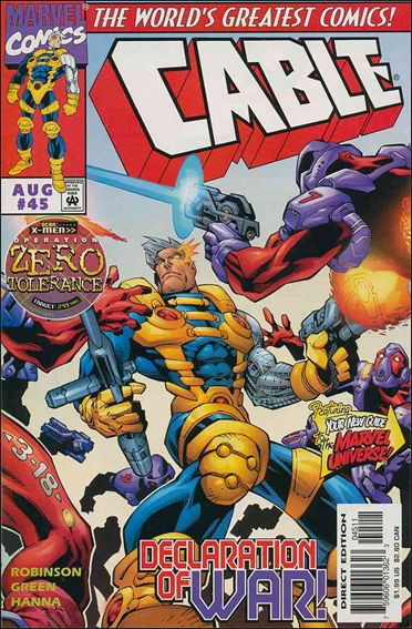 Cable (1993) 45-A by Marvel