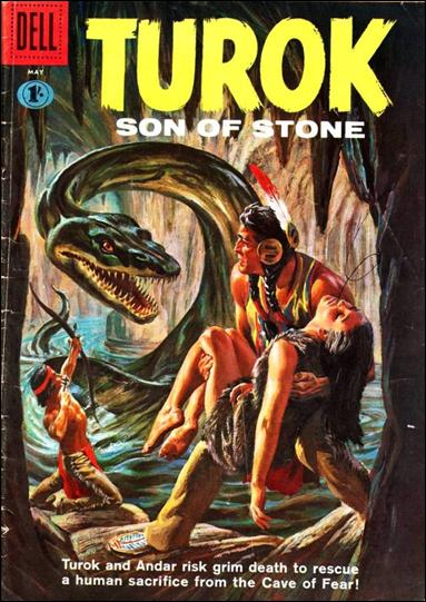 Turok, Son of Stone (1956) 23-B by Gold Key