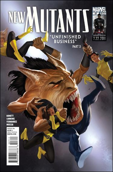 New Mutants (2009) 27-A by Marvel