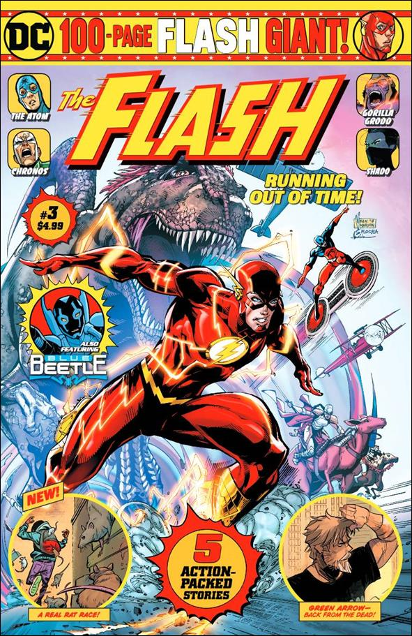 Flash Giant  (2019/08) 3-B by DC