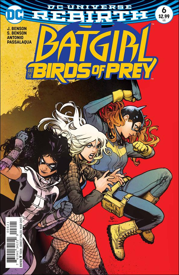 Batgirl & The Birds of Prey 6-B by DC