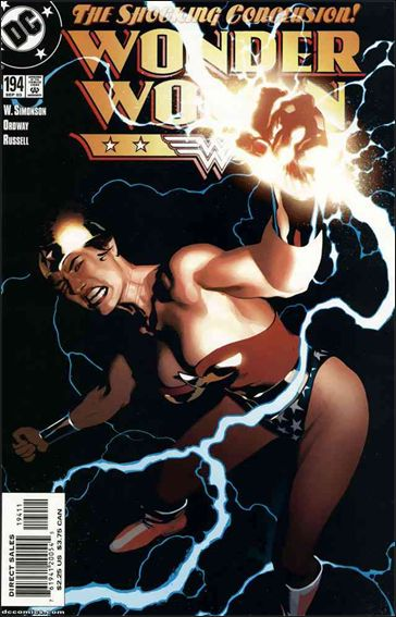 Wonder Woman (1987) 194-A by DC
