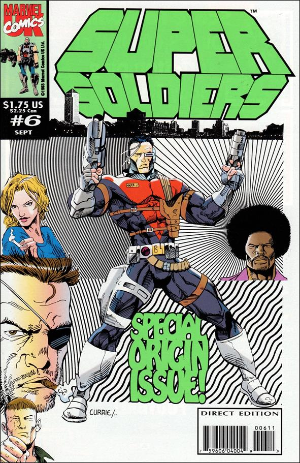 Supersoldiers (UK) 6-A by Marvel UK