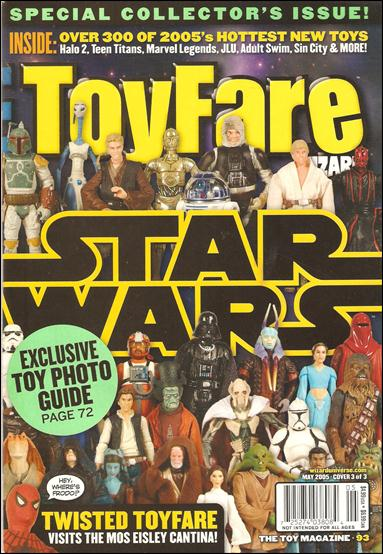 Toyfare: The Toy Magazine 93-A by Wizard Press