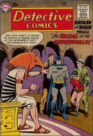 Detective Comics (1937) 262-A by DC