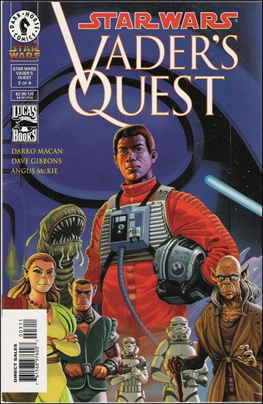 Star Wars: Vader's Quest 3-A by Dark Horse