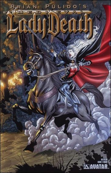Brian Pulido's Medieval Lady Death 1-B by Avatar Press