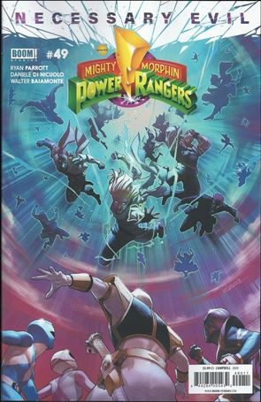 Mighty Morphin Power Rangers 49-A