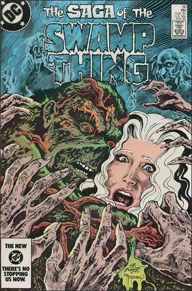 Saga of the Swamp Thing 30-A by DC