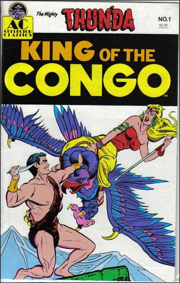Thun'Da: King of the Congo 1-A by AC