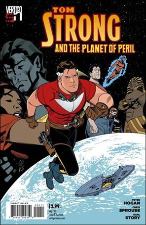 Tom Strong and the Planet of Peril 1-A