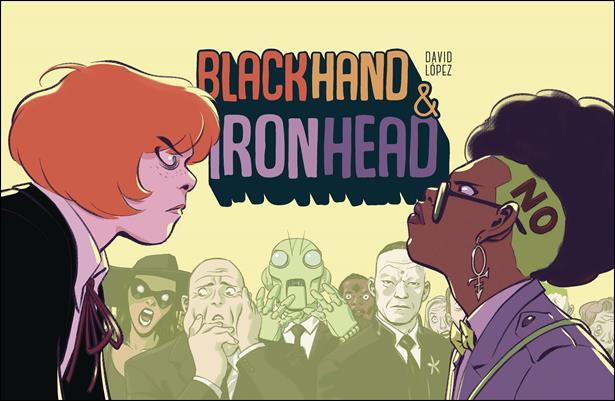 Blackhand & Ironhead 1-A by Image