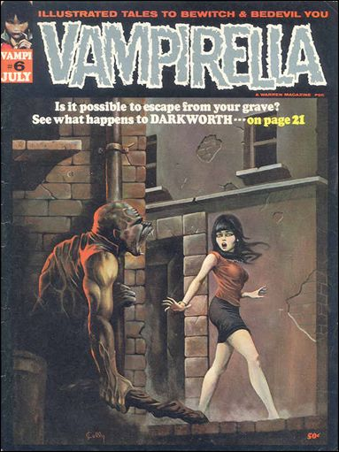 Vampirella 6-A by Warren