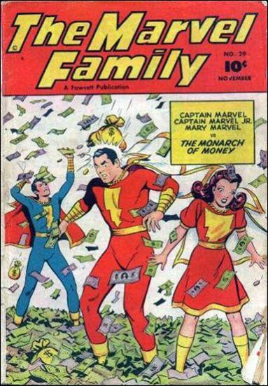 Marvel Family 29-A by Fawcett