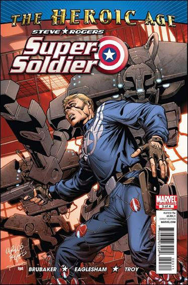 Steve Rogers: Super-Soldier 3-A by Marvel