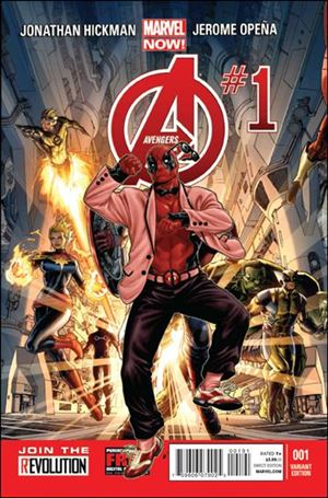 Avengers (2013) 1-G