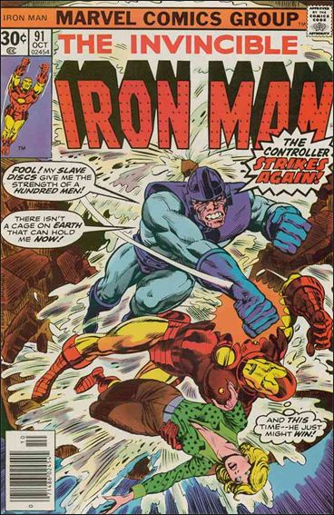 Iron Man (1968) 91-A by Marvel