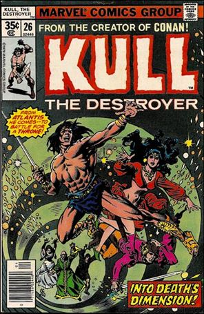 Kull the Destroyer 26-A