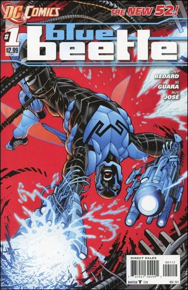 Blue Beetle (2011) 1-B by DC