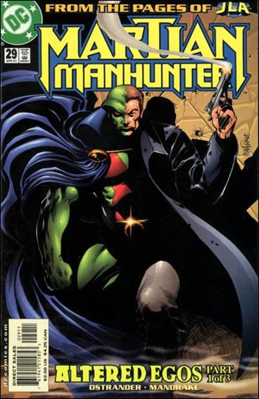 Martian Manhunter (1998) 29-A by DC