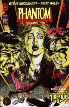 Phantom of Fear City 4-A by Claypool