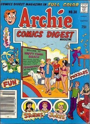 Archie Comics Digest Magazine 38-A