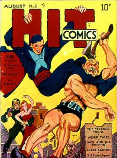 Hit Comics 2-A by Quality