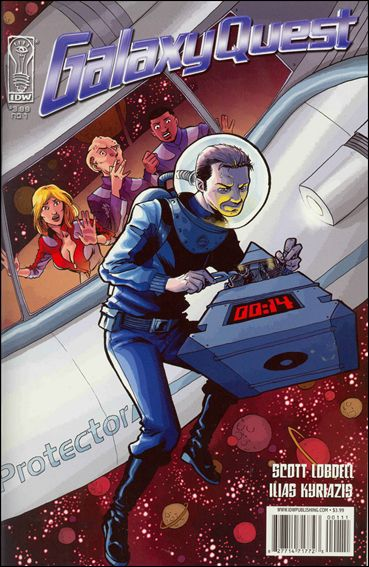 Galaxy Quest: Global Warning! 1-A by IDW