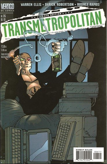 Transmetropolitan 26-A by Vertigo