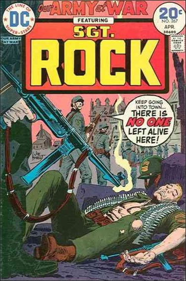 Our Army at War (1952) 267-A by DC