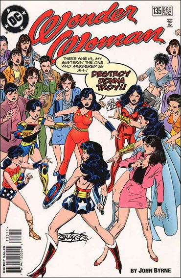 Wonder Woman (1987) 135-A by DC