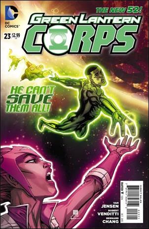 Green Lantern Corps (2011) 23-A by DC