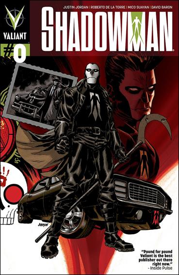 Shadowman (2012) 0-A by Valiant Entertainment