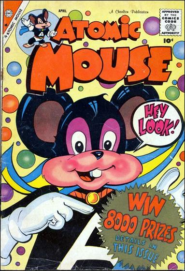 Atomic Mouse (1953) 30-A by Charlton