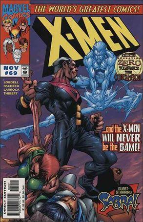 X-Men (1991) 69-A
