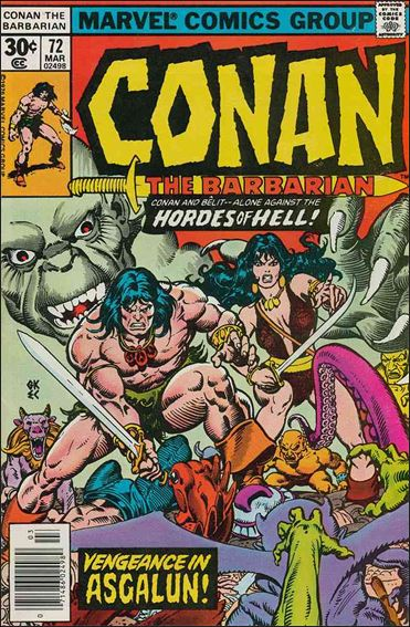 Conan the Barbarian (1970) 72-A by Marvel