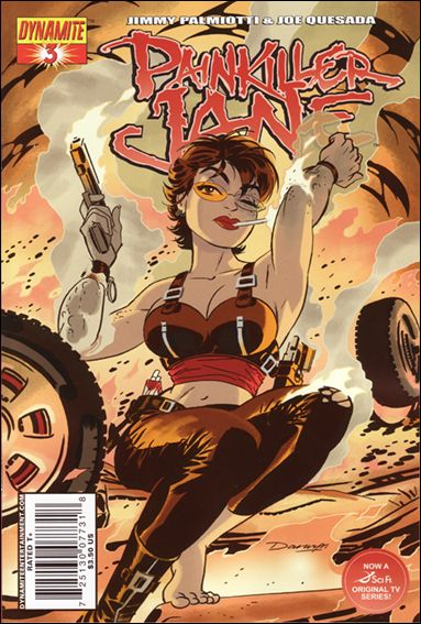 Painkiller Jane (2007) 3-C by Dynamite Entertainment