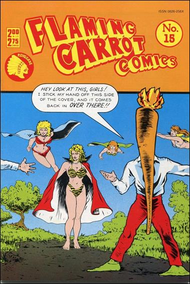 Flaming Carrot Comics (1984) 15-A by Dark Horse