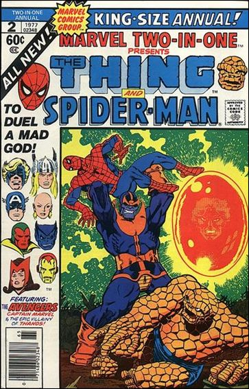 Marvel Two-In-One Annual 2-A by Marvel