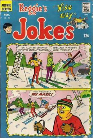 Reggie's Wise Guy Jokes 4-A