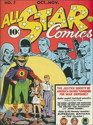 All Star Comics (1940) 7-A