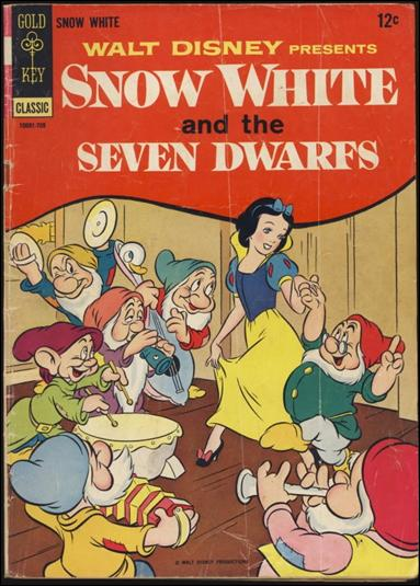Walt Disney's Snow White and the Seven Dwarfs 1-B by Gold Key