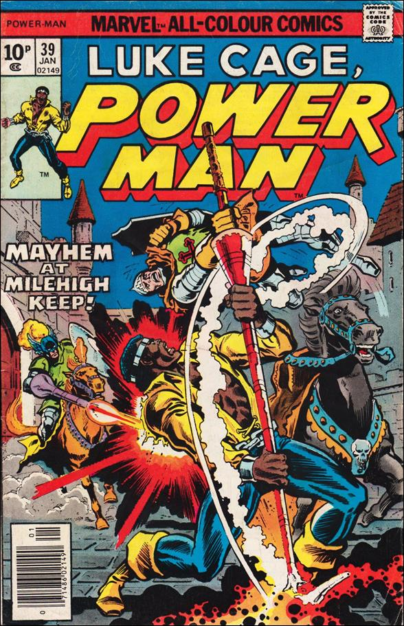 Power Man 39-B by Marvel