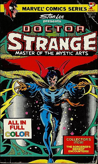 Marvel Comics' Doctor Strange, Master of Mystic Arts 1-A by Pocket Books
