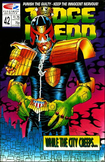 Judge Dredd (1986) 42-A by Quality Comics