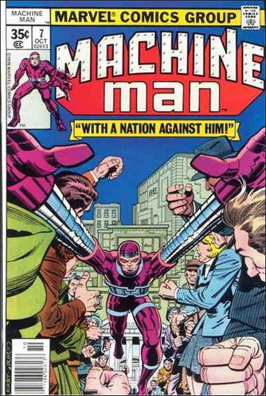 Machine Man (1978) 7-A by Marvel