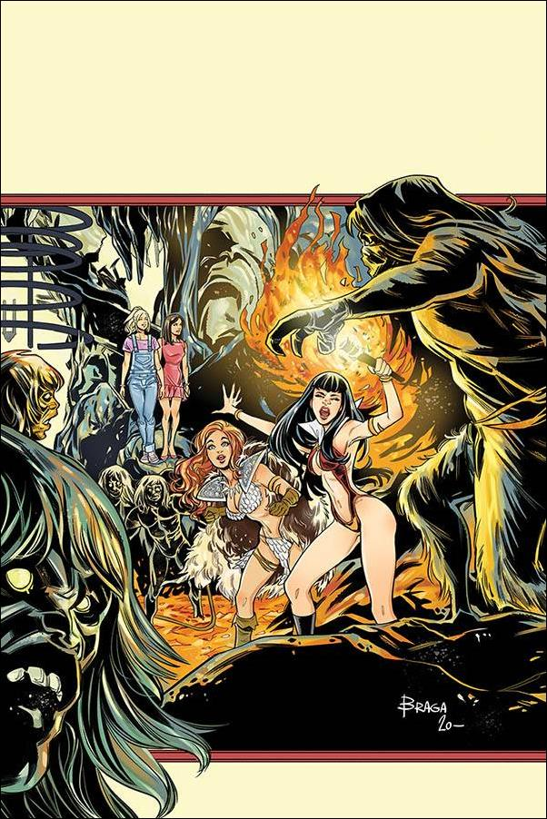 Red Sonja and Vampirella Meet Betty and Veronica 12-J by Dynamite Entertainment