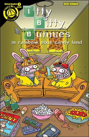Itty Bitty Bunnies In Rainbow Pixie Candy Land: Save X-Mas 1-A