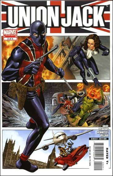 Union Jack (2006) 2-A by Marvel