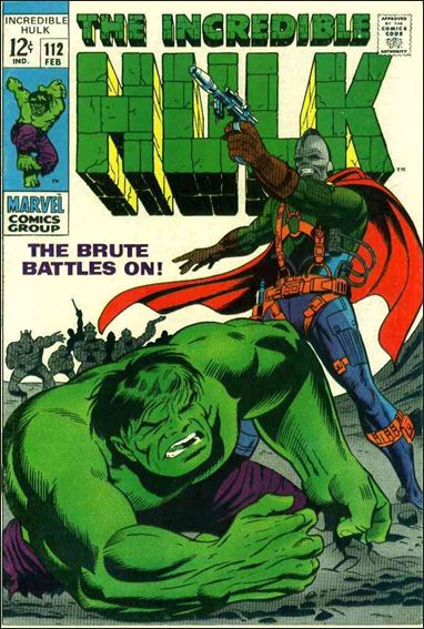 Incredible Hulk (1968) 112-A by Marvel